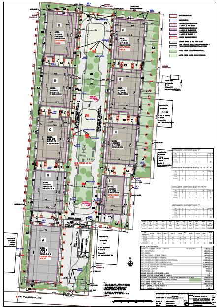 Residence5_click4home_Plan de situatie
