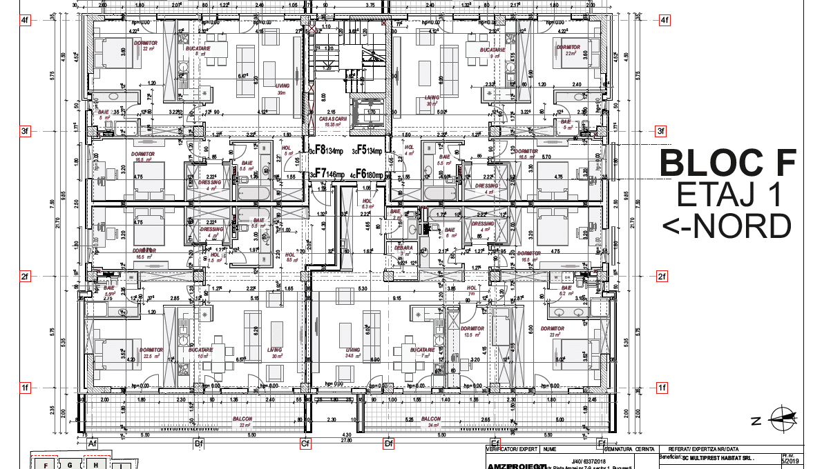 Residence5_click4home_Plan etaj1