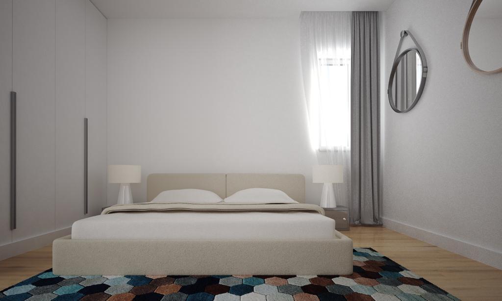 Ansamblu rezidențial Tunari - dormitor - Click4Home