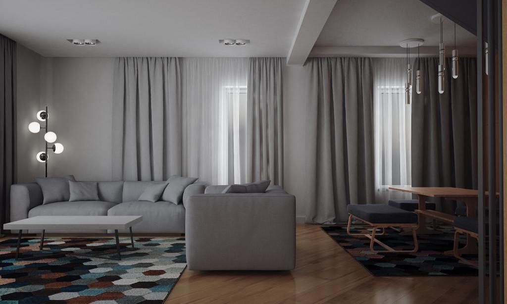 Ansamblu rezidențial Tunari - etajul principal - Click4Home