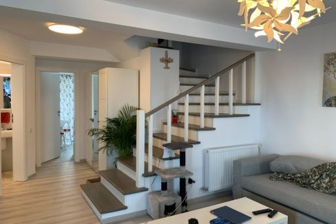 Ansamblu rezidențial Tunari -vedere la scară Click4Home